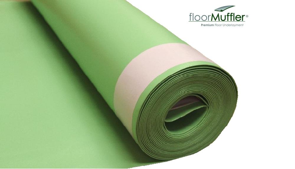 Floor Muffler High-Performance Acoustical Underlayment
