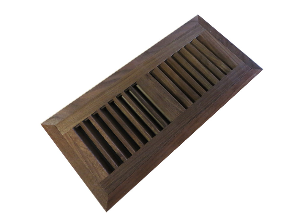 American Walnut Prefinished Flush Mount Vent