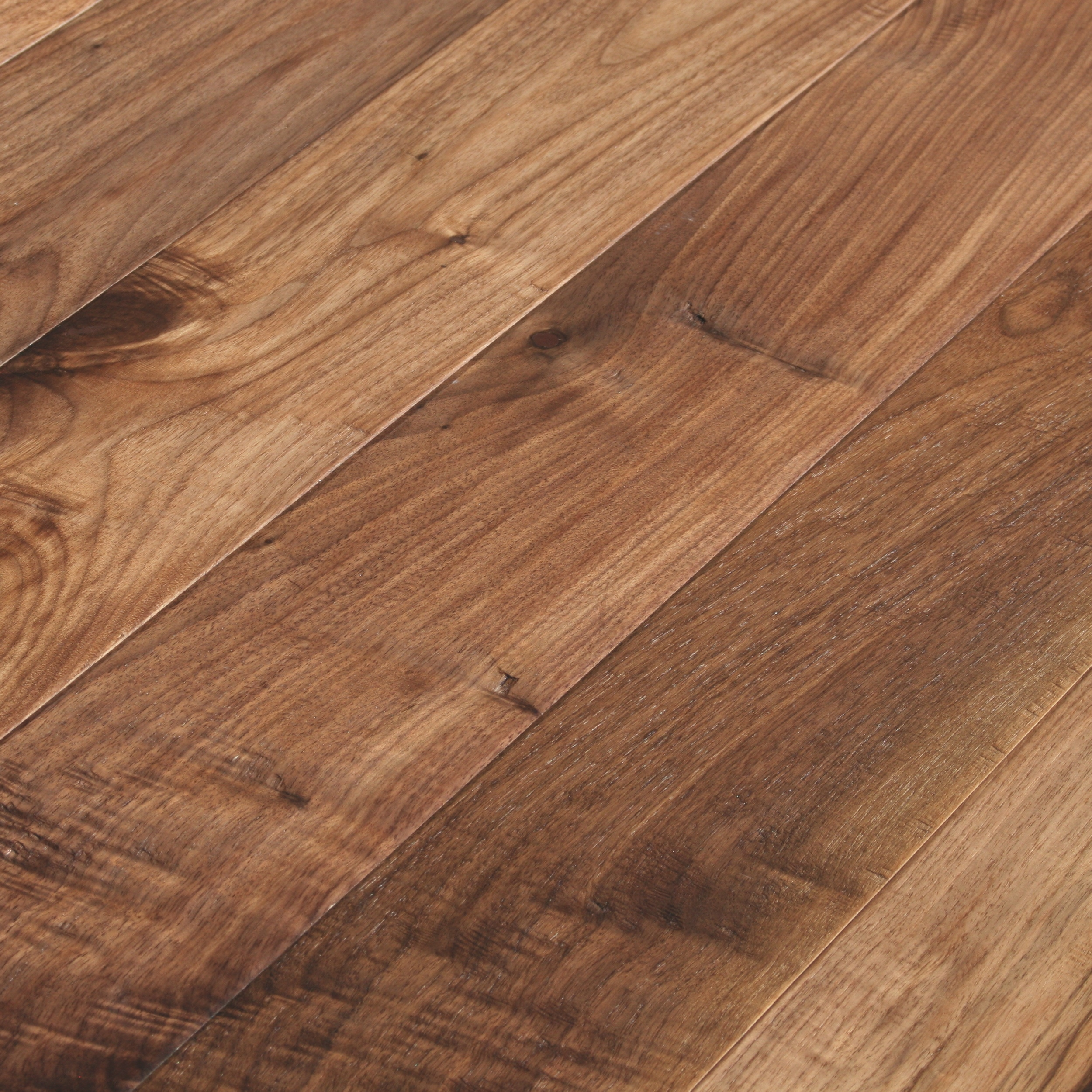 Black walnut oiled natural hand scraped eastern flooring for Wood flooring natural